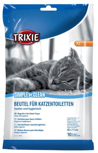 Trixie XLarge Cat Litter Tray Liners - 4051